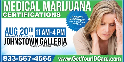 Medical Marijuana Certification Event Johnstown
