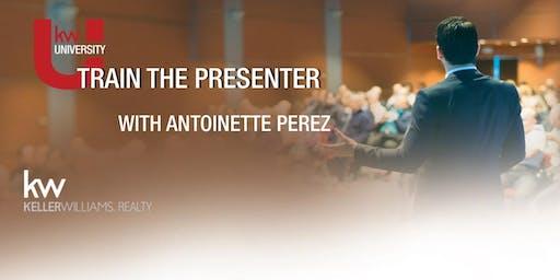 Train the Presenter: 2 Day KW Certification Program