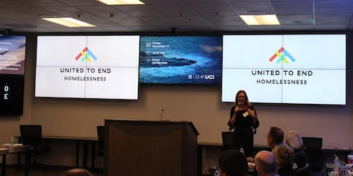 Homelessness 101 Class at UCI hosted by Student United Way