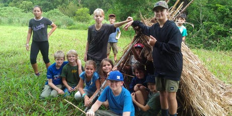 Wild 1 & Wild 2 School Holiday Survival Skills and Nature Connection Workshops tickets