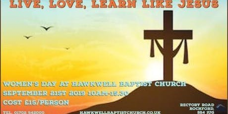 live,love,learn like jesus tickets
