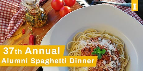 37th Annual Alumni Spaghetti Dinner tickets