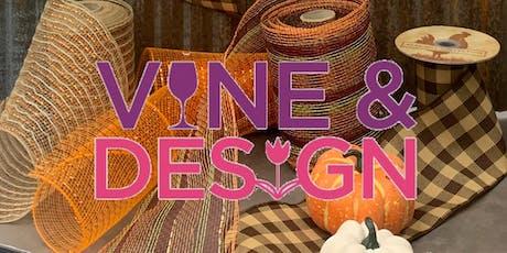Vine & Design: Fall Door Charm tickets