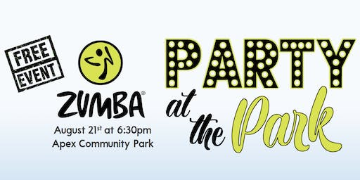 ZUMBA Party at the Park - FREE Event