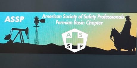 August Permian Basin ASSP Chapter meeting tickets