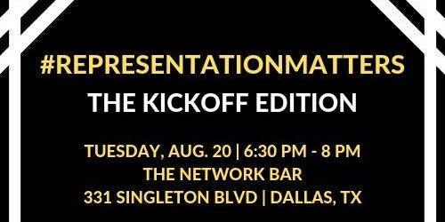 #RepresentationMatters: The Kickoff Edition