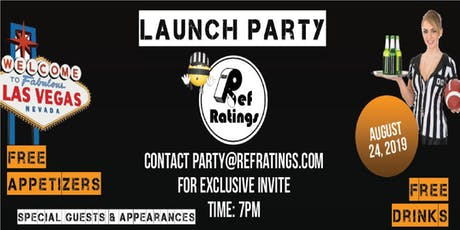 Ref Ratings Las Vegas Launch Party! tickets