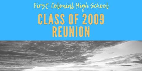 First Colonial High School Class of 2009 Reunion tickets