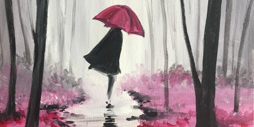 Chill & Paint Night @ Auckland City Hotel  -  Walking in the Rain