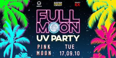 Full Moon UV Party