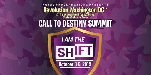 'Call to Destiny' Summit #RevolutionWashingtonDC: The Gathering of God's End-time Army
