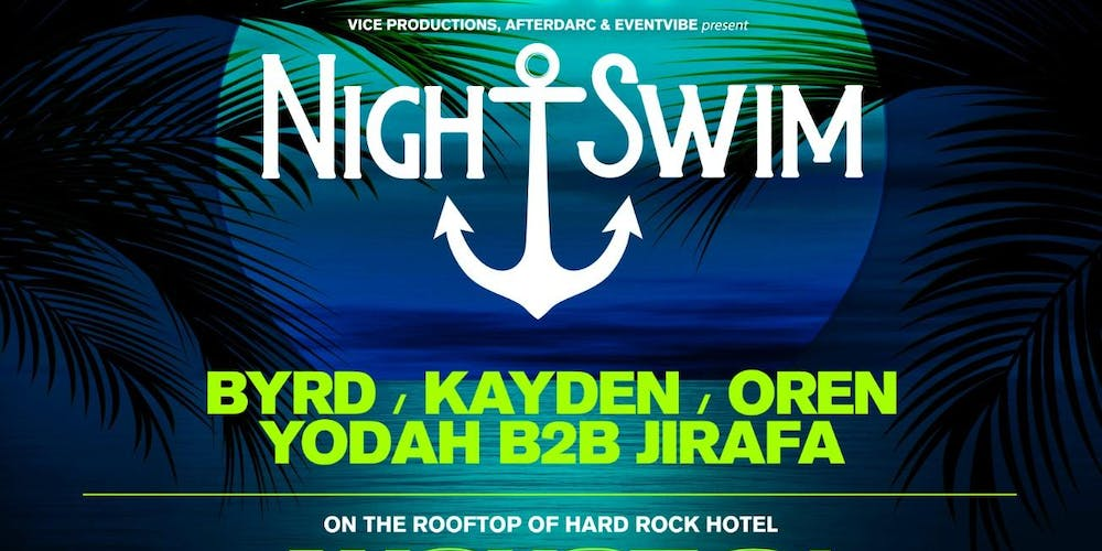 Night Swim Pool Party At Hard Rock Hotel Labor Day Weekend Tickets