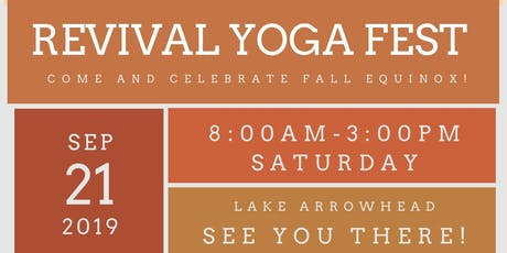 Revival Yoga Fall Fest tickets