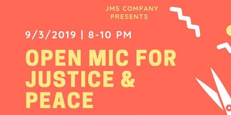 Open Mic For Justice & Peace tickets