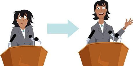 Improve your Public Speaking! (Online) billets