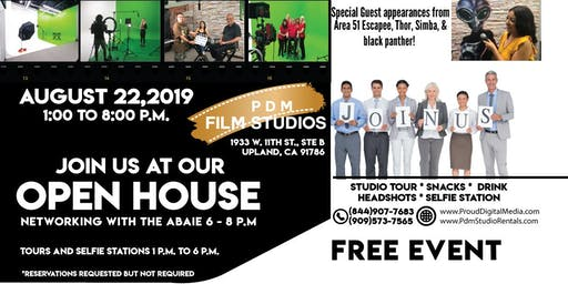 PDM Film Studios Open House & ABAIE Networking