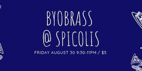 BYOBrass at Spicoli's! tickets