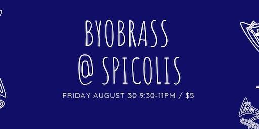 BYOBrass at Spicoli's!