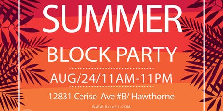 Base51's Summer Block Party tickets