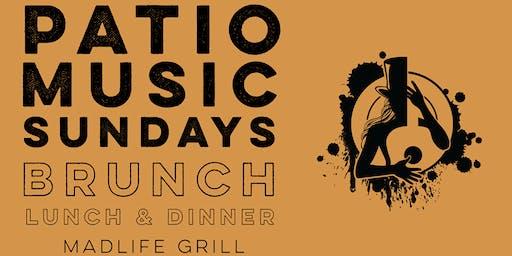 Patio Music Sundays (Brunch, Lunch & Dinner)