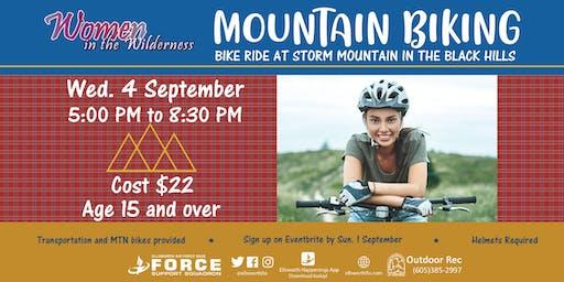 Ellsworth Women In Wilderness Mountain Bike Ride