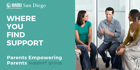 Parent Support Group - Parents Empowering Parents (PEP) FY2019/20  tickets