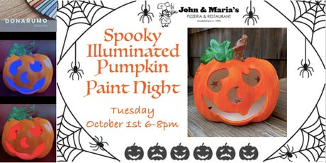 Spooky Illuminated Pumpkin Paint Night tickets