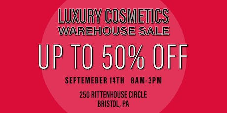 Special Invitation Warehouse Sale - BRISTOL, PA - SEPTEMBER 14, 2019 tickets
