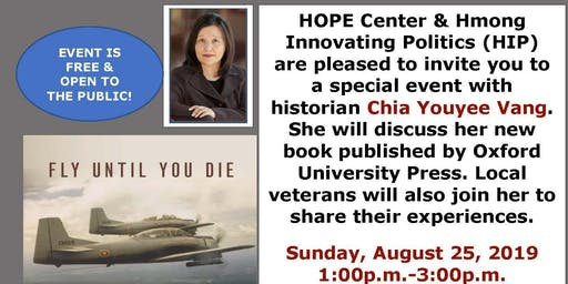 Fly Until You Die: Book Talk with Professor Dr. Chia Youayee Vang
