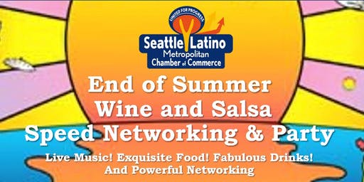 End of Summer Networking - Wine and Salsa Party