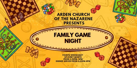 Family Game Night & Dinner tickets