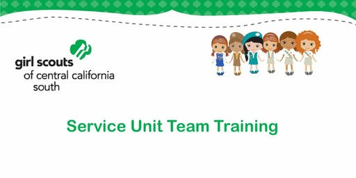Service Unit Team Training - Tulare