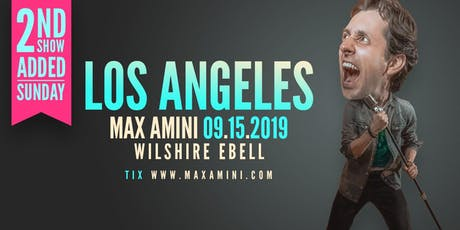 Max Amini Live in Los Angeles ll tickets