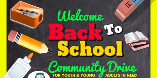 Welcome Back To School Community Drive