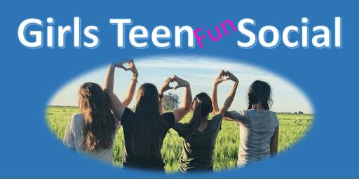 Girl's Teen Social and Sleepover