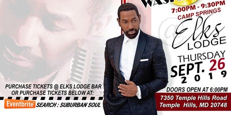 Suburban Soul Up Close and Personal Featuring Keith Washington  tickets