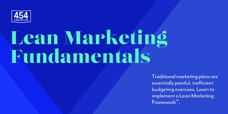 Lean Marketing Fundamentals tickets