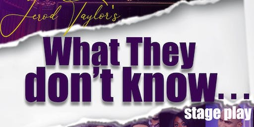 Jerod Taylor's What They Don't Know