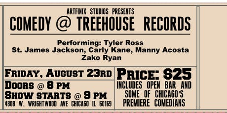 Comedy In The TreeHouse tickets