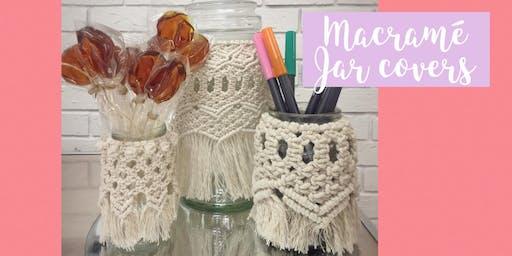 Macramé Jar Covers - Intermediate