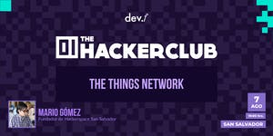 The Hacker Club: The Things Network @San Salvador: 7...