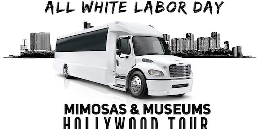 All White Labor Day Mimosas and Museum Hollywood Tour