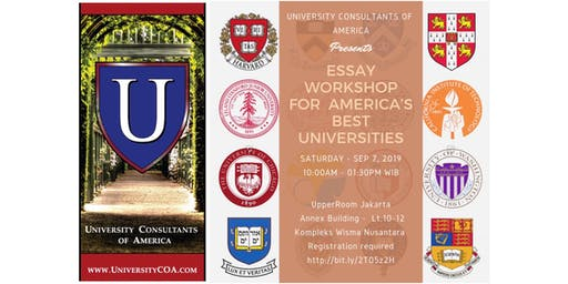 Essay and Application Workshop for America's Best Universities