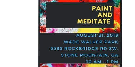 PAINT AND MEDITATE tickets
