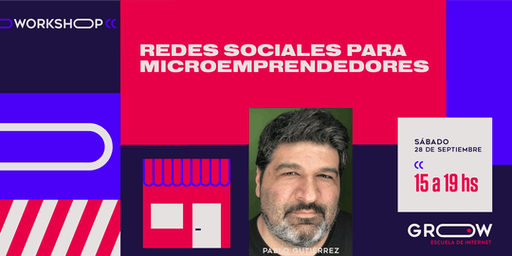 Workshop: Redes sociales para microemprendedores