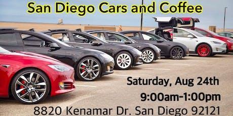 Tesla Club-SoCal at San Diego Cars and Coffee! tickets