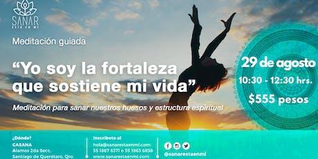 Meditación Guiada de Sanación Agosto / Querétaro tickets