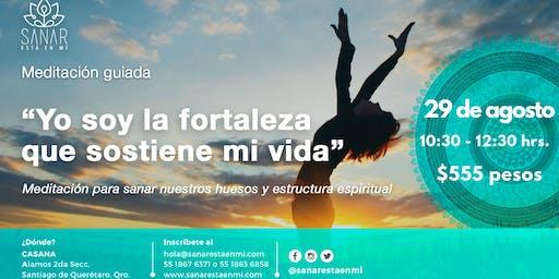 Meditación Guiada de Sanación Agosto / Querétaro