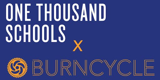 One Thousand Schools x BurnCycle Fundraising Ride