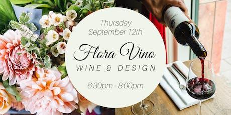 Flora Vino - Wine & Design tickets